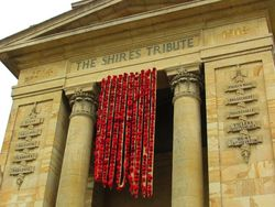 Anzac Centenary Wall of Tears : 18- April-2015