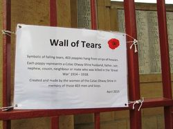 Wall of Tears Plaque 2 : 17-April-2015