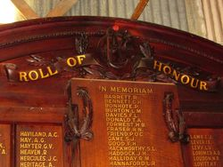 Honour Roll 2 : 05-March-2015