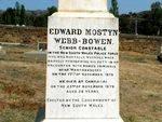 Constable Webb Bowen Inscription
