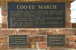 Coo-ee March Inscription : July 2014