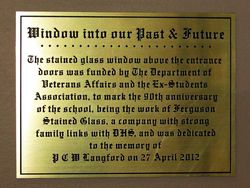 Plaque : 27-April-2015