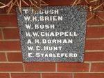 Methodist Memorial Wall Trustees Plaque: March 2014