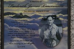Lawrenson Plaque : 08-September-2014