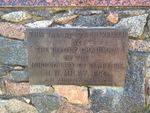 Dr Alexander Thomson Inscription Plaque 2 : 20-09-2013
