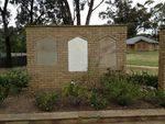 Grant Tombstone- Memorial Wall :October 2013