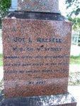 Dr Joseph Wassell Left Inscription : 22--07-2013
