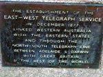 East West Telegraph Inscription 2