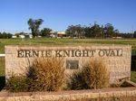 Ernie Knight Oval & Wall : 29-July-2014