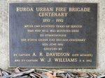 Euroa Urban Fire Brigade Centenary : 12-May-2013