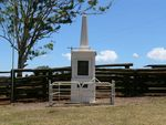Evelyn Scrub War Memorial Front view