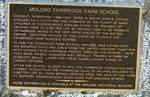 Fairbridge Remembrance Drive Inscription Plaque