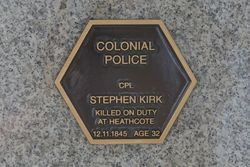Colonial Plaque 2 : 13-April-2015