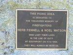 Fennell + Watson Memorial Inscription