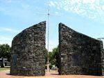 First Settlement Memorial Wall