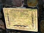 Fishermans Prayer Plaque