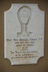 Foran Plaque : 11- November-2014