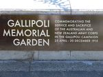 Gallipoli Memorial Garden : 06-December-2011