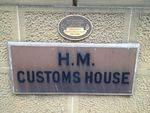 Customs House Plaque 2 : April 2014
