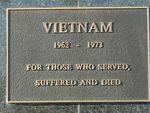 Geelong North Vietnam War Memorial   Rear