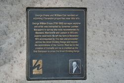 Evans Plaque: 19-September-2015