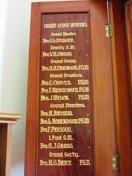 Lodge Officers : 17-December-2014