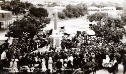 26-January-1924 : Unveiling (State Library of New South Wales)