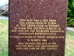 Gugliemo Marconi Inscription