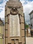 Gympie Gates Left Pillar Honour Roll