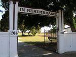 Harrisville Memorial Gates
