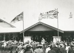20-September-1924 : Hospital Opening : State Library of South Australia - B-26864