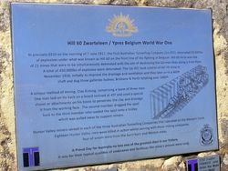 Hill 60 Plaque : 11-September-2014