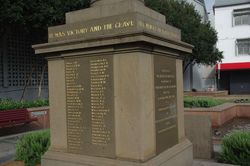 Honour Roll WW1 : 22-October-2014