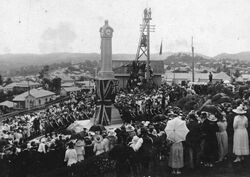 25-February-1922 : Unveiling (State Library of Queensland)