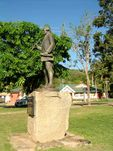 James Cook Statue  Side View