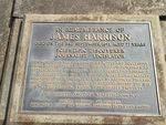 James Harrison Inscription Plaque : 20-09-2013