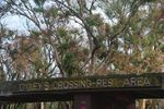 Oxley`s Crossing Sign : July 2014