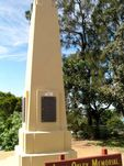 John Oxley Memorial Closeup
