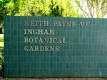Keith Payne VC Botanical Gardens