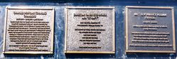 Memorial Plaques 3 :10-June-2016