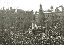 15-July-1920 : Unveiling : State Library of South Australia - B-71518-2