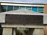 King George V Memorial Inscription : October 2013