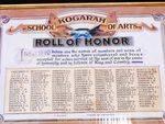 Kogarah School of Arts Honour Roll