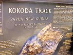 Kokoda Track Memorial Plaque 2 : 27-05-2014