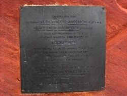 Kookaburra Memorial Plaque