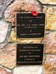 Korea War Memorial Dedication Plaque