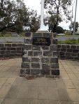 Korean War Memorial Cairn : October 2013