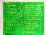 Korean War Memorial Capyeong Stone Inscription