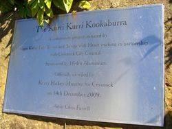 Kookaburra Plaque : 11-September-2014