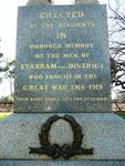 Kyabram War Memorial : 21-July-2012